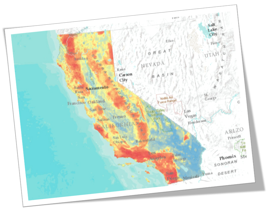 Wildfire Hazard Map Urbanstat Upgrade Your Underwriting
